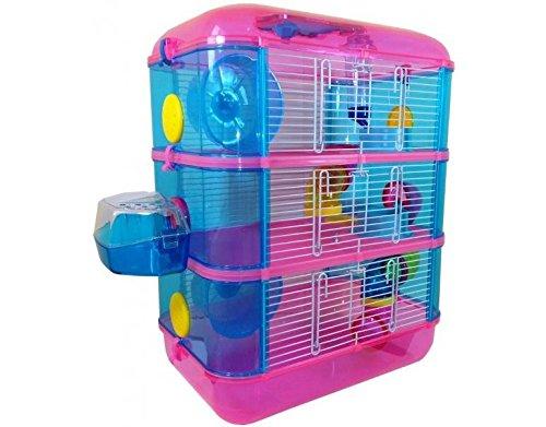 Jaula Para Hamster De 3 Pisos