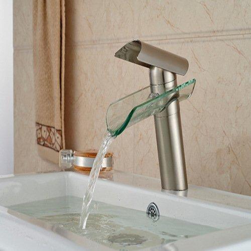 BL@ Europeo moderno acqua fredda rame nichel spazzolato monoforo