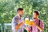druck-shop24 Wunschmotiv: Men in traditional bavarian clothes holding mugs of beer #121157030 - Bild als Klebe-Folie - 3