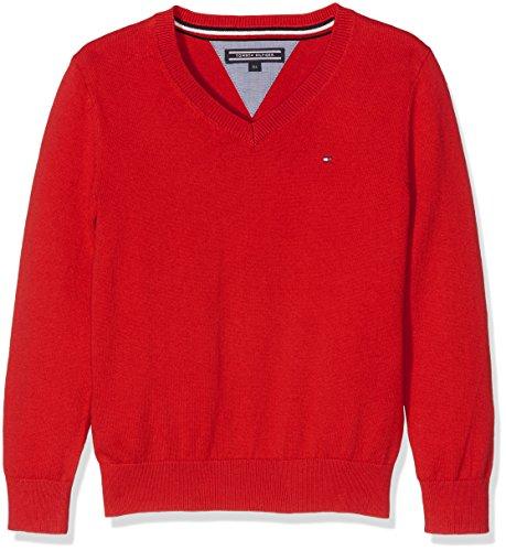 Tommy Hilfiger Ame Tommy VN Sweater L/S, Pull Garçon Tommy Hilfiger