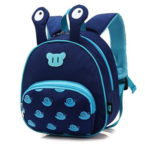 Kinder Rucksack, Cute Cartoon Schnecken Kleinkind Kinder Spielzeug Rucksack Tasche Schultaschen Baby Nursery Kindergarten Tasche Jungen Mädchen Reise Rucksack (Cute Junge Babys)