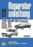 VW-Golf, Scirocco (ab Oktober 1977 bis August 1979) : Golf L, GL, S, LS, GLS, GTI, Scirocco L, S, LS, GT, GL, GTI, GLI