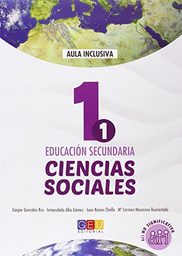 Geografía e Historia - Ciencias Sociales Libro de Texto - 1º de la ESO - ACI No Significativa
