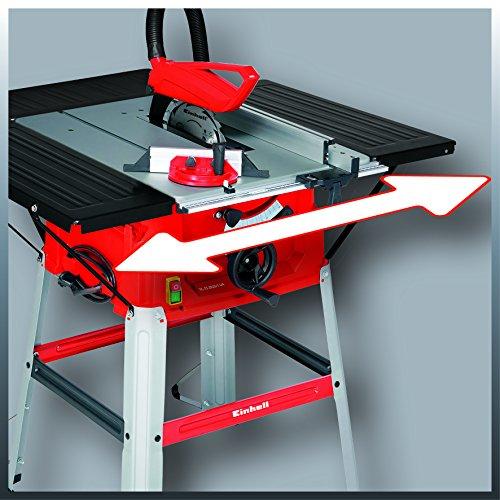 Einhell Tischkreissäge TC-TS 2025/1 UA (1800 W, Sägeblatt Ø250 x Ø30 mm, max. Schnitthöhe 85 mm, Tischgröße 642 x 487 mm) - 2