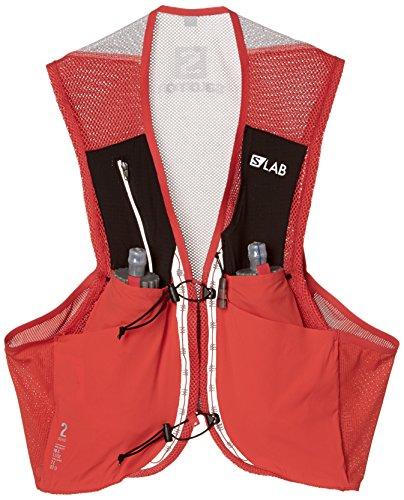 Salomon Bag S/Lab Sense 2 Set - Bolsa de hidratación, Unisex Adulto, Rojo(Racing Red)