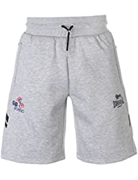 Lonsdale Mens GB Boxing Shorts Jersey Pants Trousers Bottoms