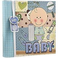 Arpan – Baby Boy azul/bebé niña rosa álbum de fotos de en la portada