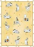 Reduziert: Kracht Geschirrtücher aus Halbleinen, Katze und Maus, 2er Pack, 50x70 cm