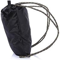 Wenquan,Bolso de Lazo Ligero de la Bolsa del Baloncesto del Deporte del Gimnasio para Caminar la natación Que Sube(Color:Negro,Size:Metro)