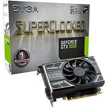 EVGA GeForce GTX 1050 SC GAMING, 2GB GDDR5, DX12 OSD Supporto (PXOC) Scheda Grafica 02G-P4-6152-KR
