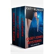 Casey Jones Mysteries Vol 1-3 (Casey Jones Mystery Series) (English Edition)