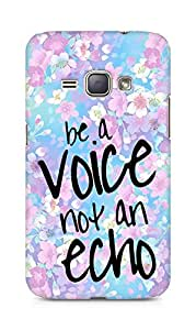 AMEZ be a voice not an echo Back Cover For Samsung Galaxy J1 (2016 EDITION)