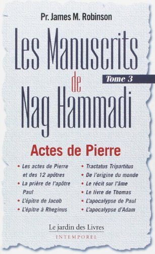Les Manuscrits de Nag Hammadi : Tome 3,