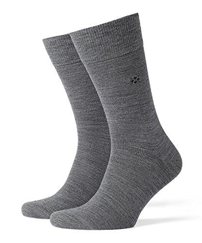 BURLINGTON Herren Leeds M SO Socken, Blickdicht, Grau (Dark Grey 3070), 40-46