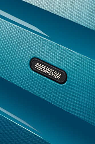 51svjefoJLL - American Tourister Bon Air Spinner M Maletas y trolleys, 66 cm, 53 L, Azul (Azul)