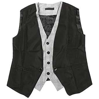 TRIXES 2 Piece design Mens Fashion Vest Gilet Taille Petite