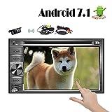 Android 7.1Auto Stereo DVD Video Player für Universal Fahrzeuge 15,7cm Octa Core double DIN in Dash 1024600Touchscreen fm/AM Radio Receiver Navigation Bluetooth Wifi Mirrorlink mit Backup Kamera