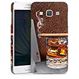 DeinDesign Samsung Galaxy A3 (2015) Hülle Premium Case Cover Zigarre Whiskey Whisky