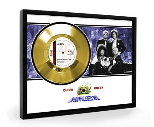 Queen I'm Going Slightly Mad Framed Disco de Oro Display Vinyl (C1)