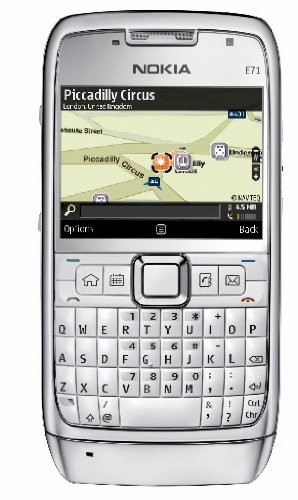 Nokia E71 - Cellulare senza sim, colore: Grigio acciaio