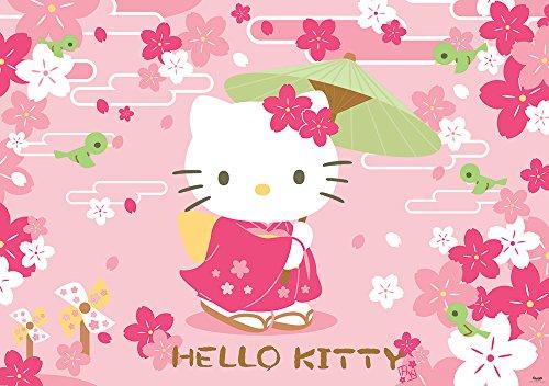 fotomurale-foto-wallpaper-carta-da-parati-foto-poster-hello-kitty-453-sfondo-blu-carta-254-cm-largo-