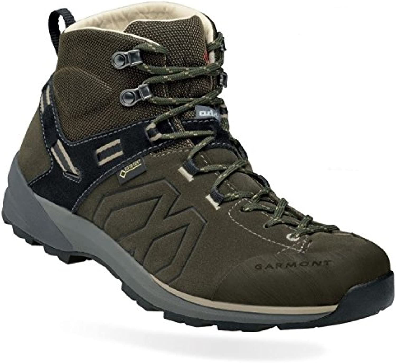 Garmont Santiago GTX Hiking Shoes Men Olive Green/Beige Schuhgröße 43 2017 Schuhe