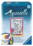 Ravensburger 29153 - Katze - Aquarelle Mini, 8,5 x 12 cm