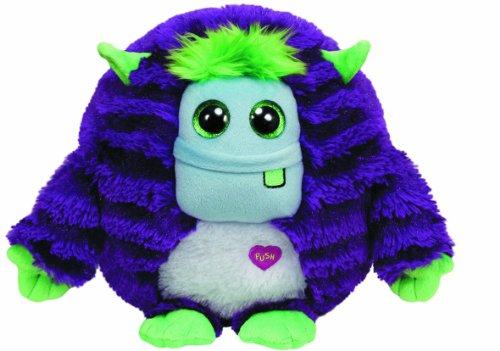 TY 37912 - Plüschtier Monstaz, Frankie X-Large Monster, gestreift, violett