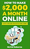 How to Make $2,000 a Month Online: 50 ways to make money online with no formal training (English Edition)