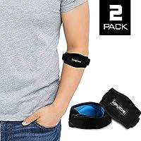 Ellenbogenbandage mit Kompressionskissen | Tennisarm Bandage für Sehnenscheidenentzündung, Tennisellenbogen und... preisvergleich bei billige-tabletten.eu
