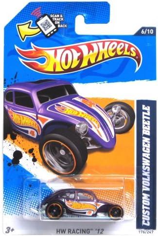 Custom Volkswagen Beetle '12 Hot Wheels Wheels Wheels 176/247 Vehicle 5f3ee7