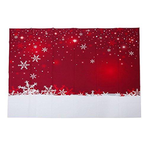 eihnachten Hintergrund Wand Weihnachten Schneeflocke Kulisse Fotografie ()
