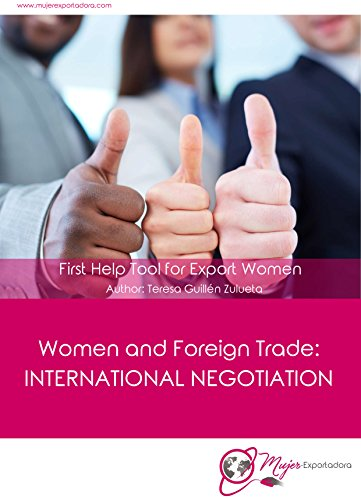 women-and-foriegn-trade-international-negotiation-first-help-tool-for-export-women-english-edition