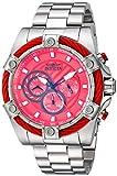 Invicta 25514 - Reloj de Pulsera Hombre, Acero Inoxidable, Color Plata