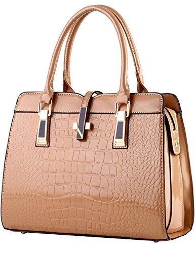 98e410d4caddd Menschwear Damen Handtasche Marken Handtaschen Elegant Taschen Shopper  Reissverschluss Frauen Handtaschen Rot Khaki