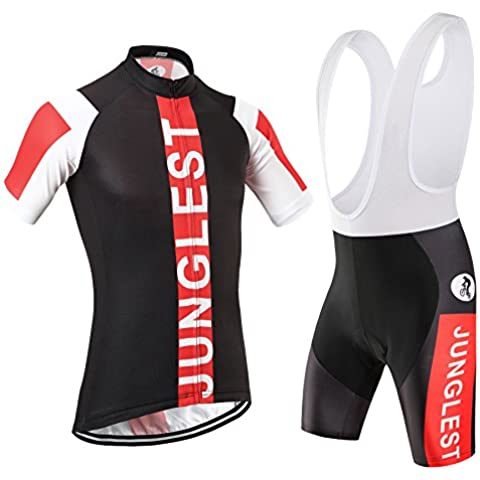 [Tipo:Set[Bretella bianchi] taglie:5XL] Cycling Estivo Per Calzamaglia