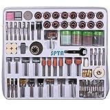 SPTA 216tlg Zubehörset fur Dremel,Proxxon Dremel Kabelgebundenes Multifunktionswerkzeug Schleifen, Schleifen, Polieren-3mm Schaft