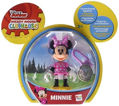 figurine articulée minnie - la maison de mickey - disney junior