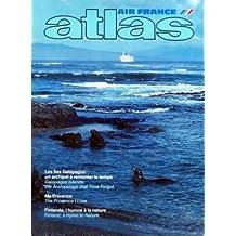 ATLAS AIR FRANCE du 01/02/1992 - LES ILES GALAPAGOS - FINLANDE - L'HYMNE A LA NATURE - BOGAZKOY - CITE CYCLOPEENNE - RAID SUR LA LOIRE EN PARAMOTEUR - MA PROVENCE - NANCY A TRAVERS LES TEMPS