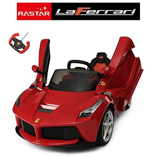 Ricco 82700 Ferrari - Coche eléctrico con Mando a Distancia y MP3...