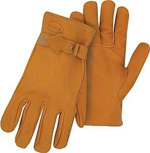 BOSS 6023J Jumbo Premium genarbtem Leder Handschuhe