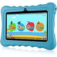 """Ainol Tablette Enfant, Q88 - Android 7.1 7"""", 1Go RAM 8Go ROM,Poids Léger Portable, Kid-Proof, Silicone Housse de Béquille, Disponible avec iWawa pour Les Enfants Éducation Divertissement"""