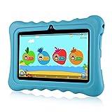 Ainol Tablette Enfant, Q88 - Android 7.1 7', 1Go RAM 8Go ROM,Poids Léger Portable, Kid-Proof, Silicone Housse de Béquille, Disponible avec iWawa pour Les Enfants Éducation Divertissement - Bleu