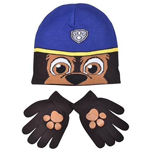 boys-paw-patrol-chase-childrens-winter-beanie-hat-gloves-official-set