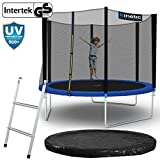 Kinetic Sports Outdoor Gartentrampolin Komplettset Ø 305 cm Sicherheitsnetz Randabdeckung