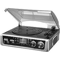 Lauson  - Tocadiscos  cl144 con radio, usb grabador y bluetooth