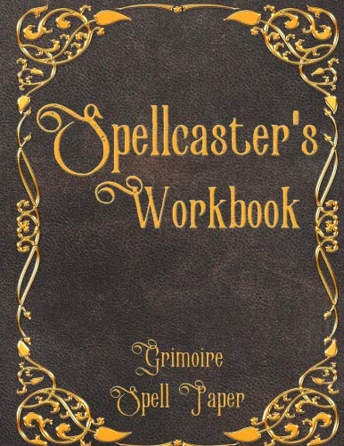 Spellcaster's Workbook Grimoire Spell Paper