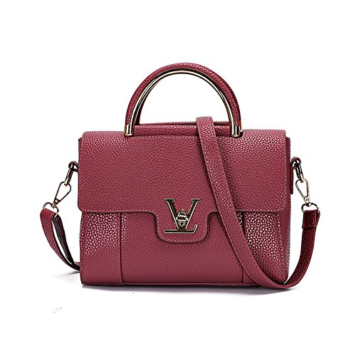 VOLSGEAT Borsa Messenger, Purple (viola) - LZN_05AD D_Red