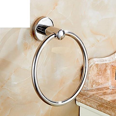 anneau de serviette/serviette en acier inoxydable accrochant/porte-serviettes rond/anneau de serviette/ anneau de serviette-B