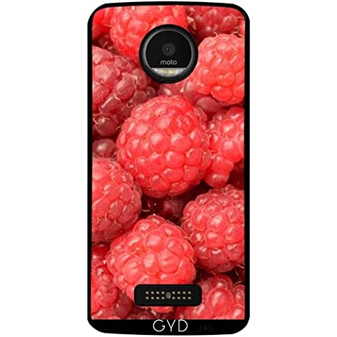 Funda para Lenovo (Motorola) Moto Z - RASBERRIES Fruta by WonderfulDreamPicture